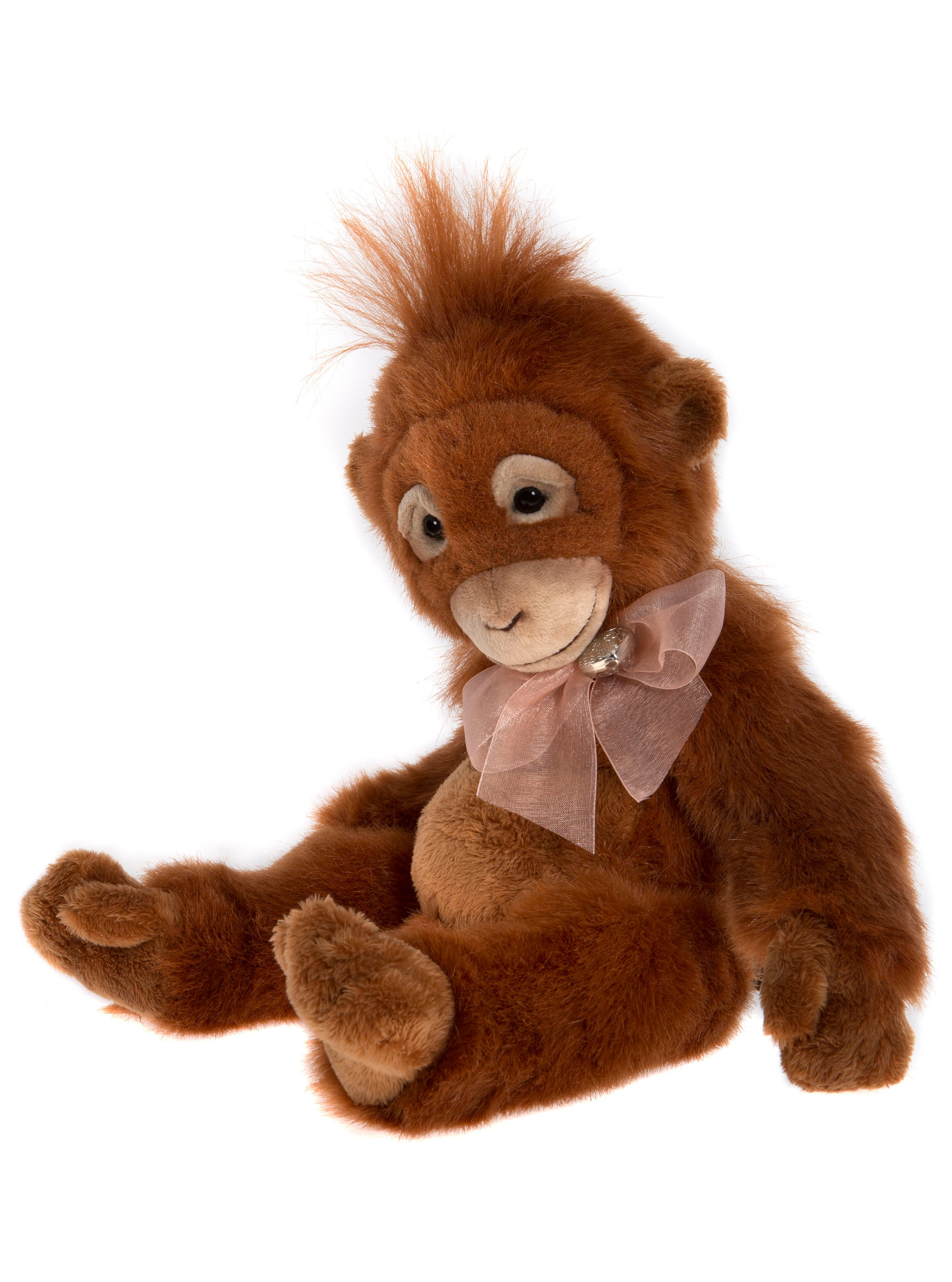 Charlie Bears Twig Orangutan - Jointed Stuffed Animal