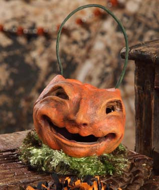 Laughing Pumpkin Bucket