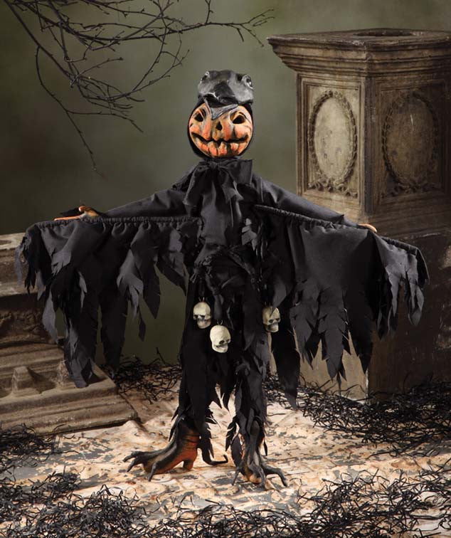 Jack OLantern With Crow Mask