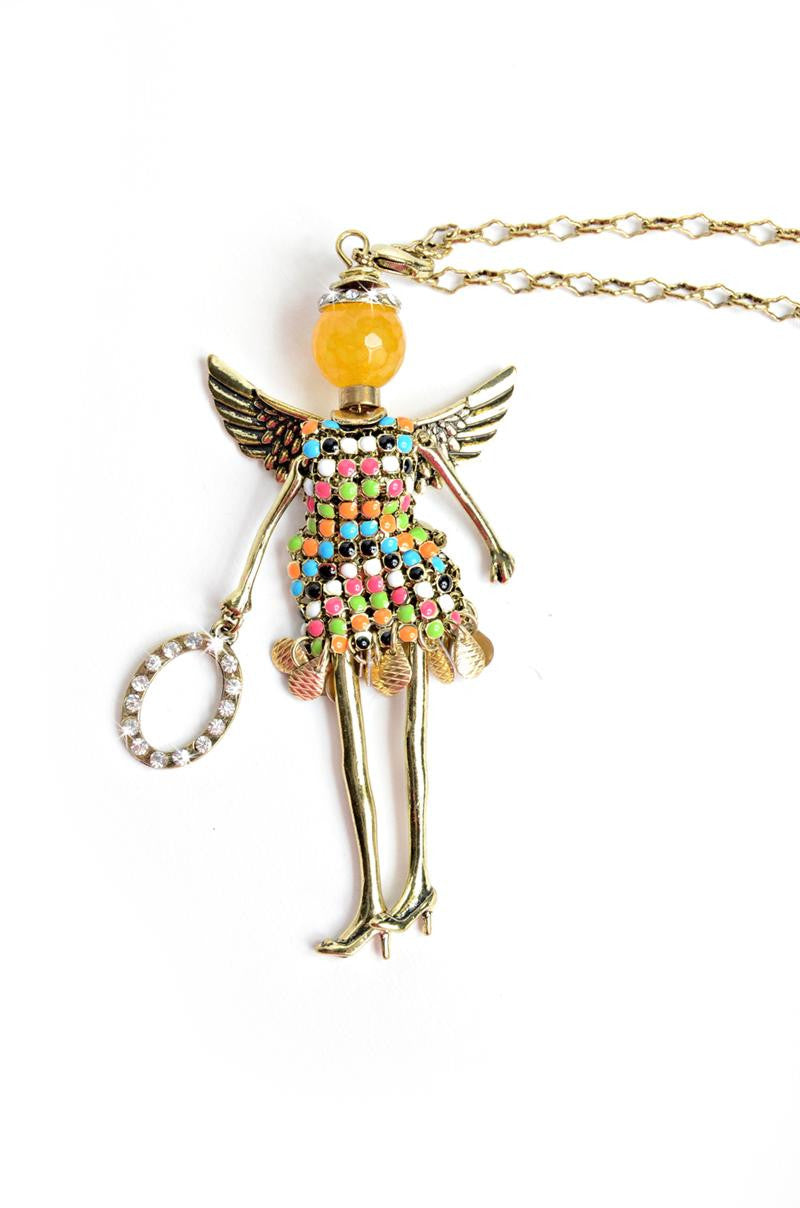 Wisdom Angel Necklace