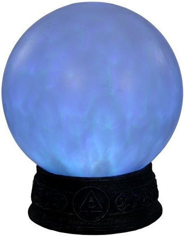 Animated Fortune Teller Crystal Ball - Blue