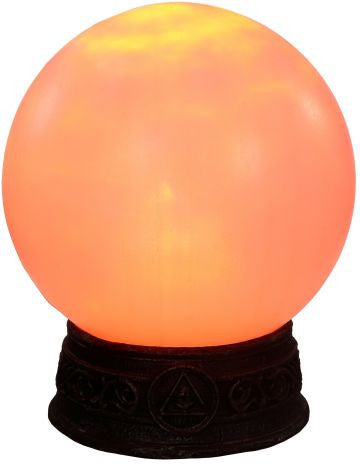 Animated Fortune Teller Crystal Ball - Orange