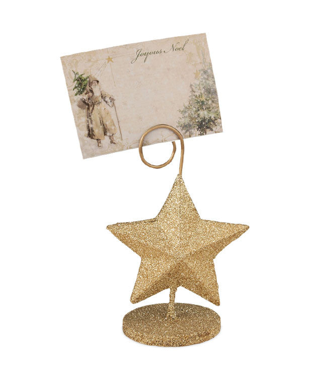 A Peaceful Christmas Star Place Card Holder