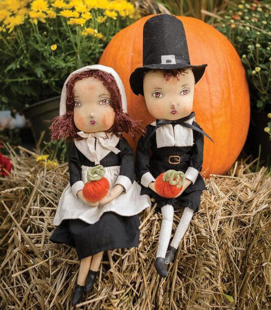 Adam & Eve Pilgrim Dolls