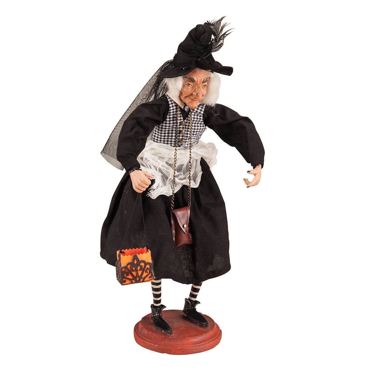 Joe Spencer Alfreda Witch on Stand