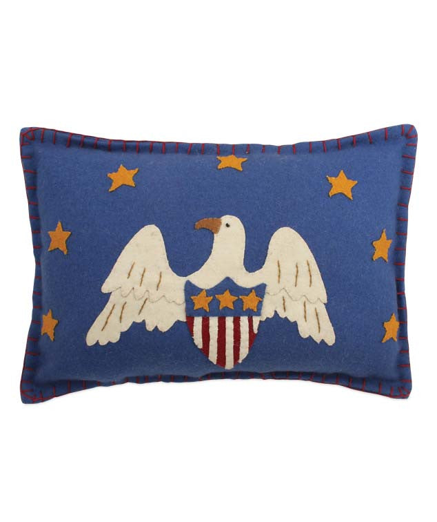 Americana Eagle Pillow by Bethany Lowe