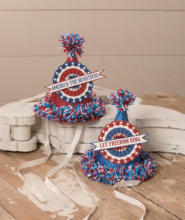 Americana Party Hats by Bethany Lowe