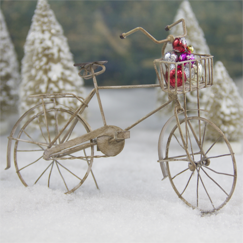 Antique Bicycle Ornament