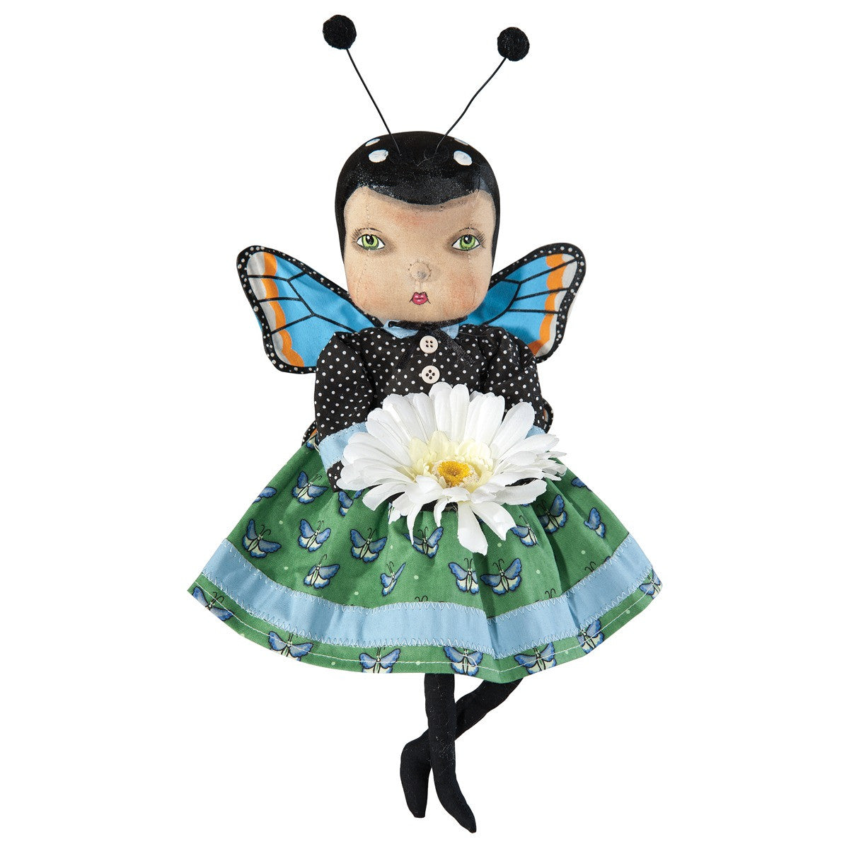 April Butterfly Girl Doll by Joe Spencer