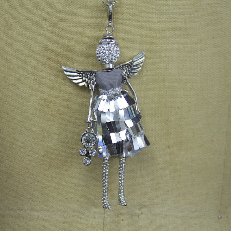 April Angel Necklace