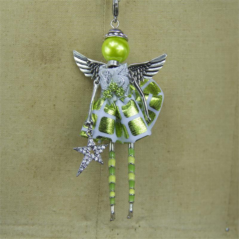 Peridot Angel Necklace