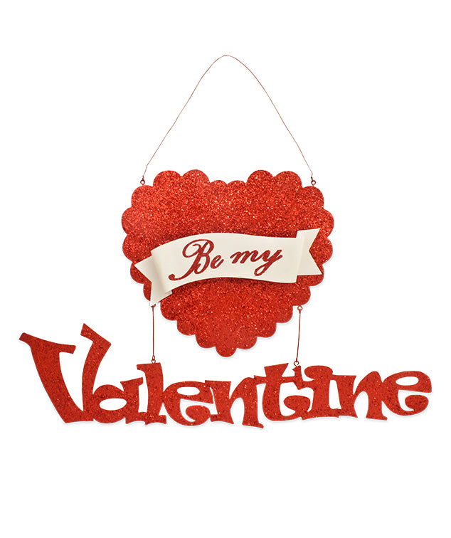 Be My Valentine Tin Sign