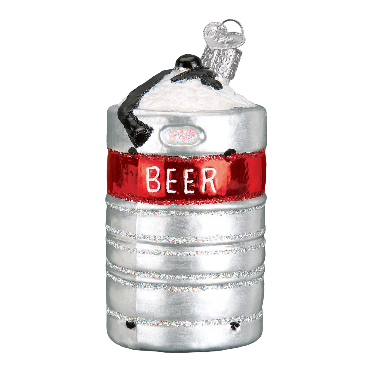 Beer Keg Ornament