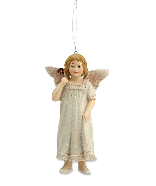 Bell Angel Ornament - Bethany Lowe
