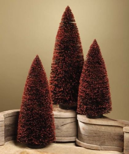 Halloween Bottle Brush Trees Large