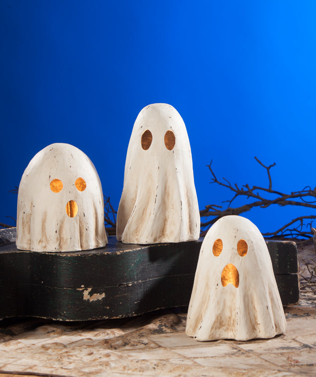 Bethany Lowe Ghost Luminaries, Medium Size