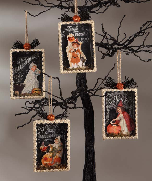 Bethany Lowe Halloween Shadowbox Ornaments