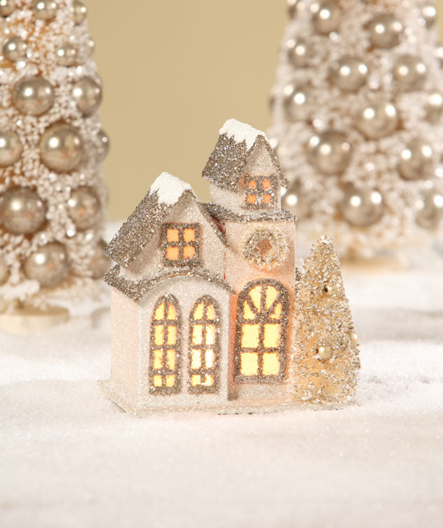 Bethany Lowe The Little Old Cottage - Christmas