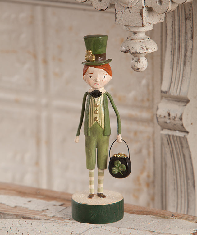 Lucky Lad Figurine - St. Paddy's Day Decor