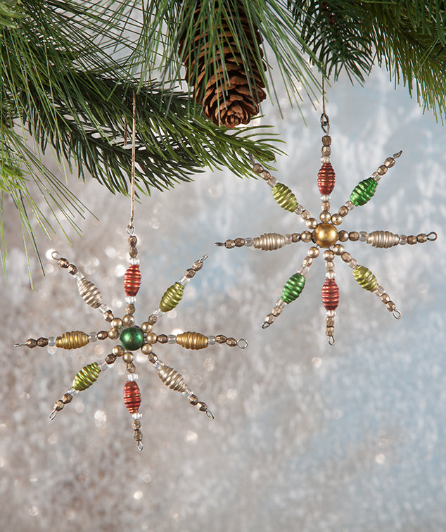 Mini Spindle Starburst Ornaments