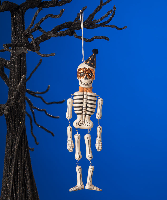 Mr. Bones Skeleton Ornament by Bethany Lowe