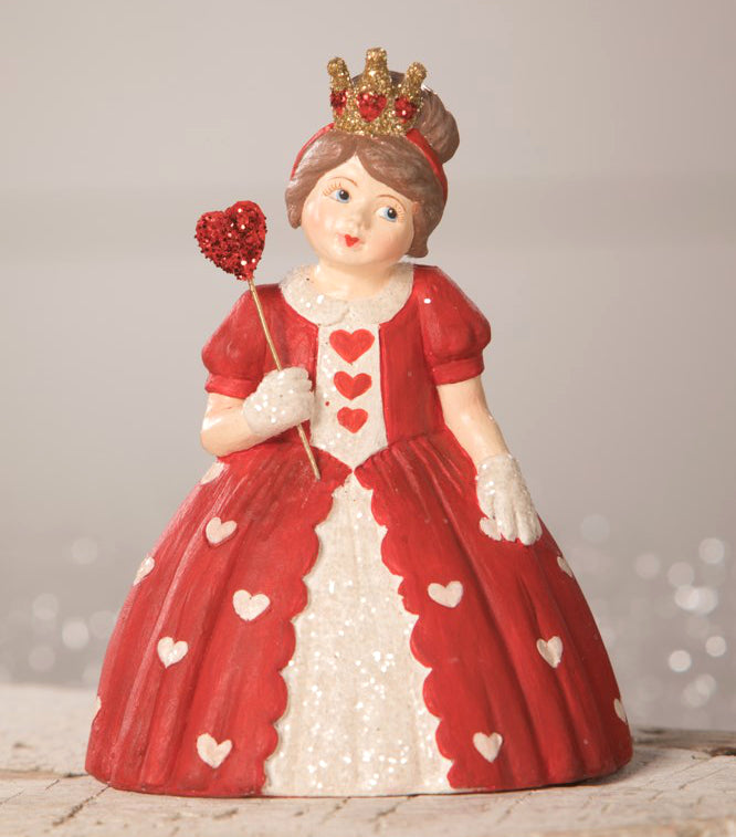 Bethany Lowe Queen of Hearts Figurine