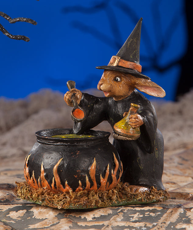 Rabbit Witch Figurine