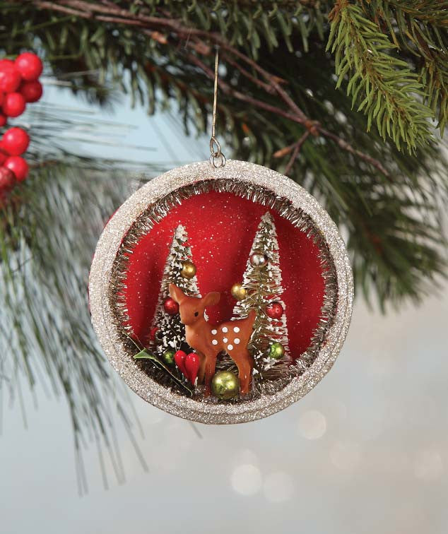 Bethany Lowe Traditional Glass Christmas Ornament