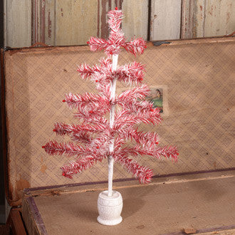 Peppermint Feather Tree