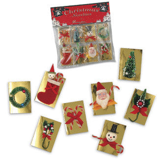 Retro Christmas Gift Tags