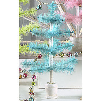 Aqua Feather Tree