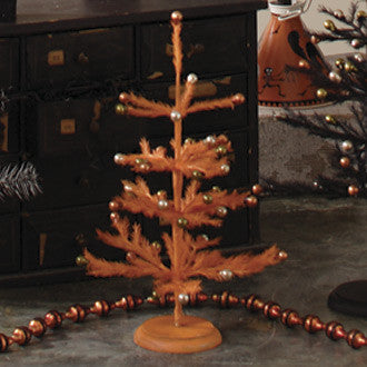 Orange Retro Halloween Tree