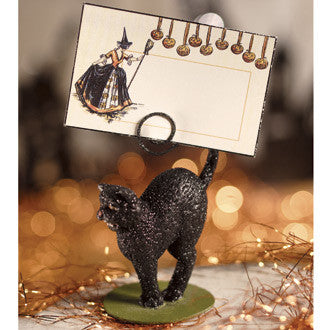 Scaredy Cat Placecard Holder