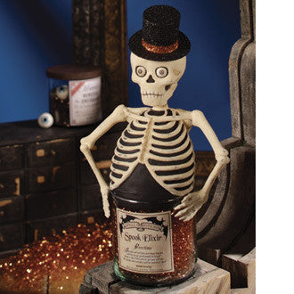 Skeleton Spook Elixir Jar