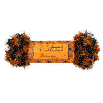 Orange & Black Twisted Halloween Garland