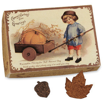 Fall Harvest Confetti in Vintage-Inspired Box