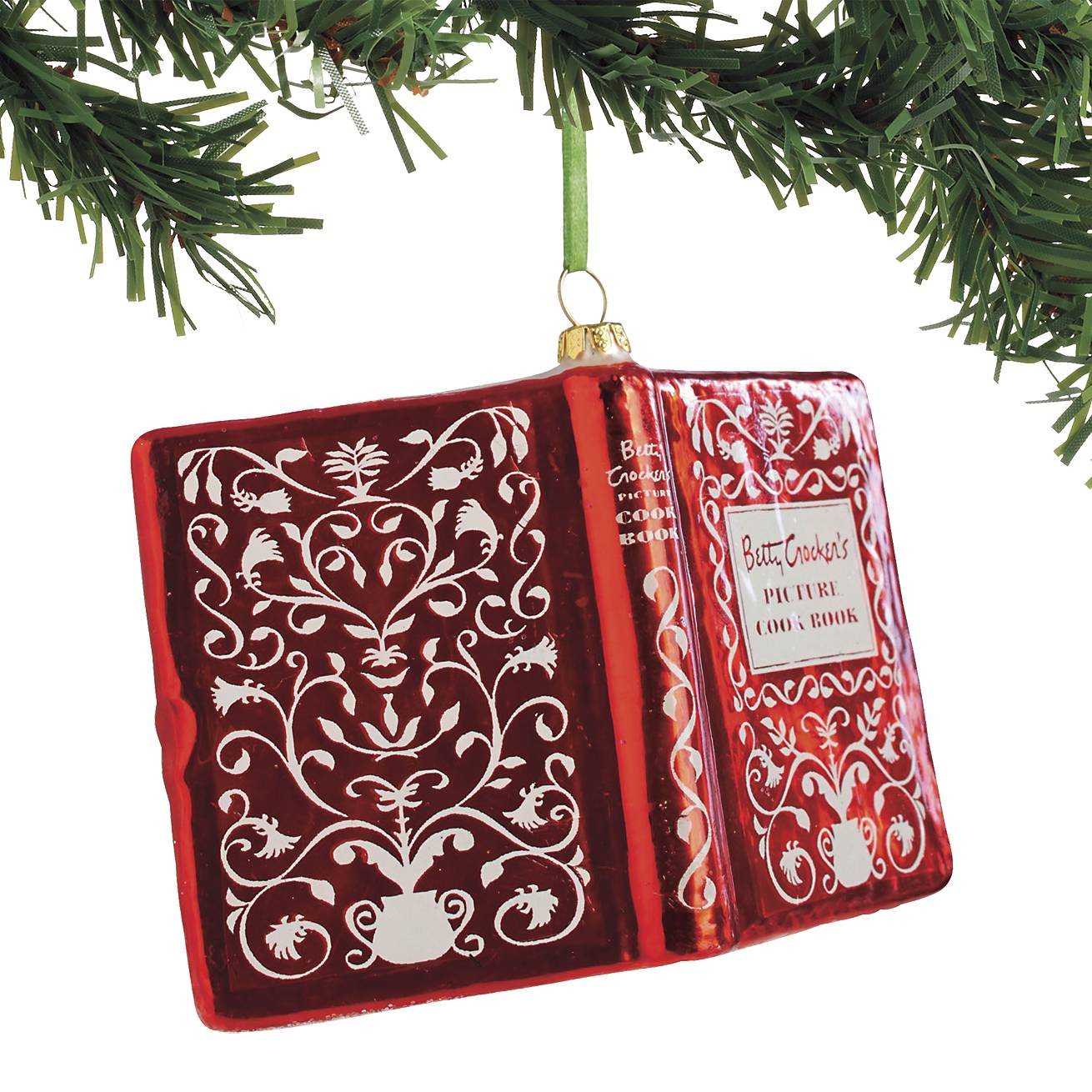 Betty Crocker Cookbook Ornament