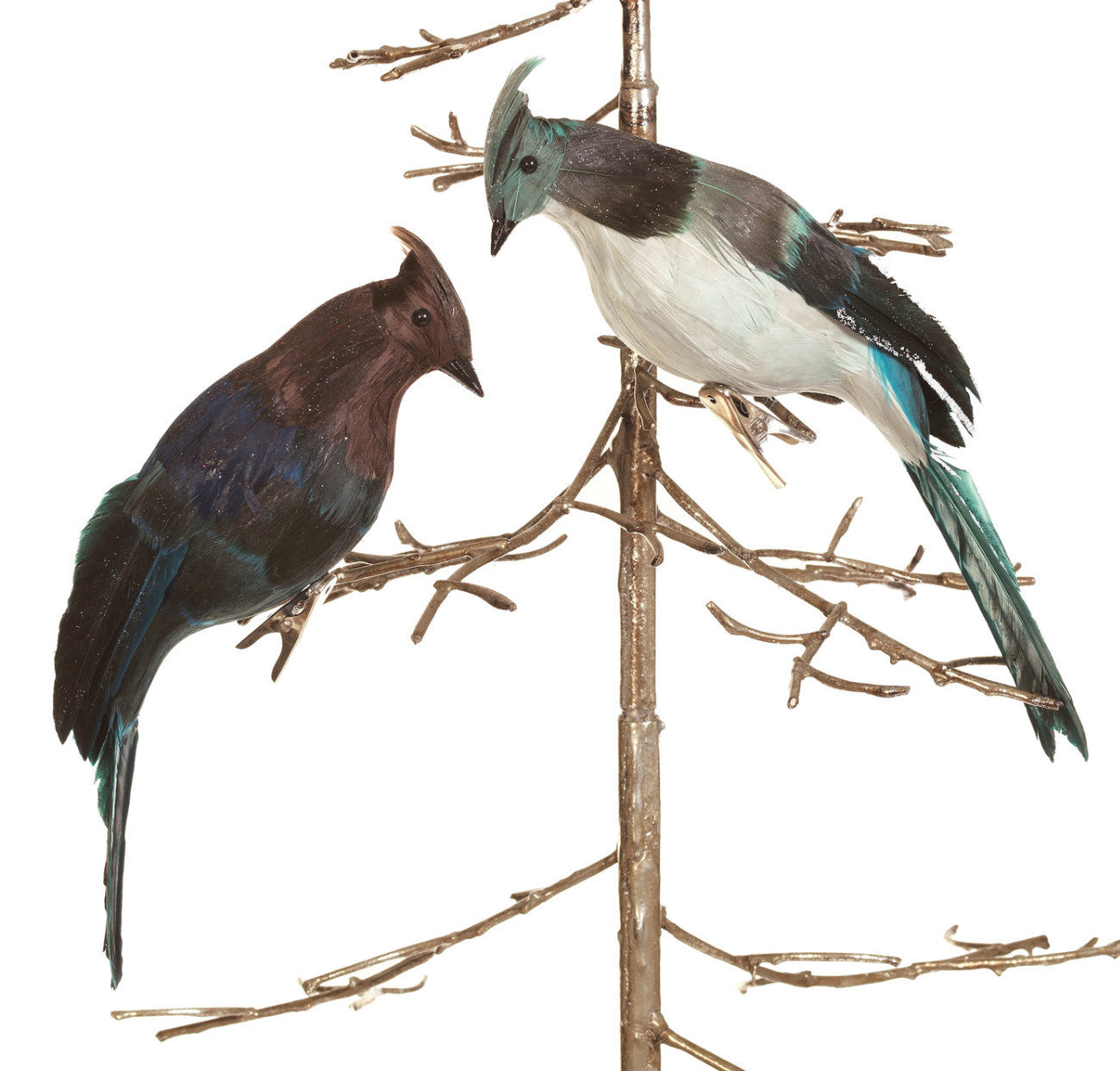 Blue Jay Clip-On Ornaments
