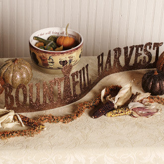 Bountiful Harvest Table Sign