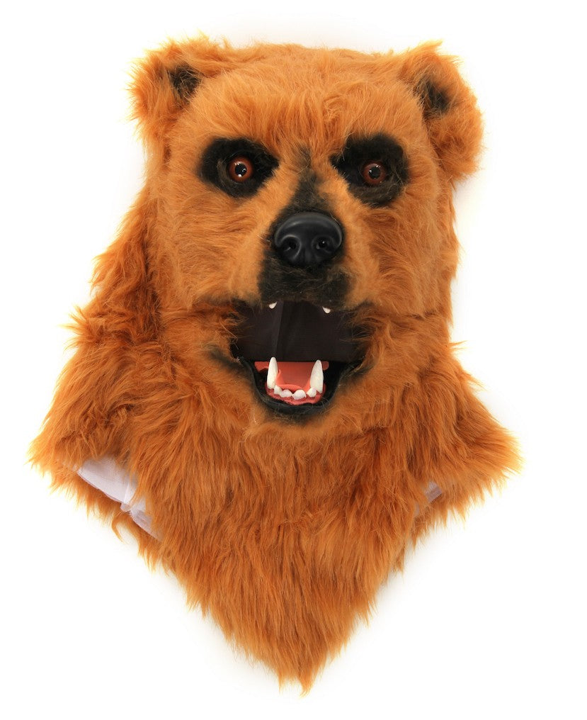 Bear Mask with Moving Mouth