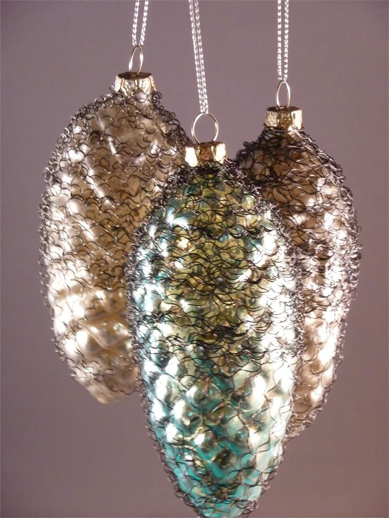 Bouillon Pinecone Ornaments