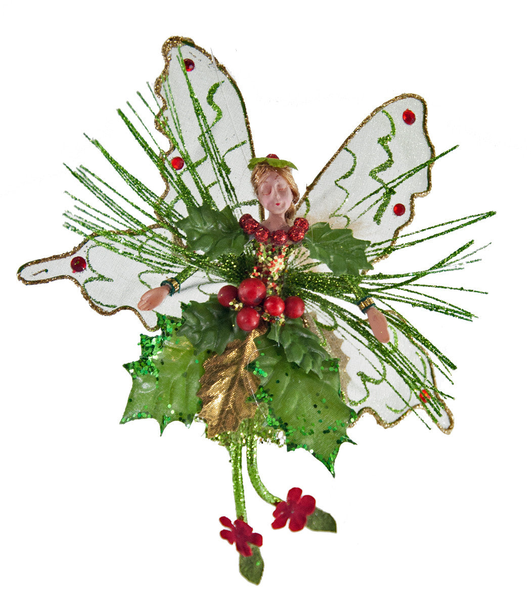 Christmas Holly Fairy