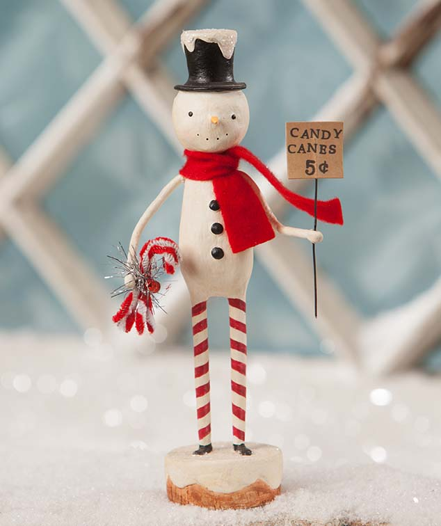 Candy Canes for Sale Snowman, Skinny Snowman