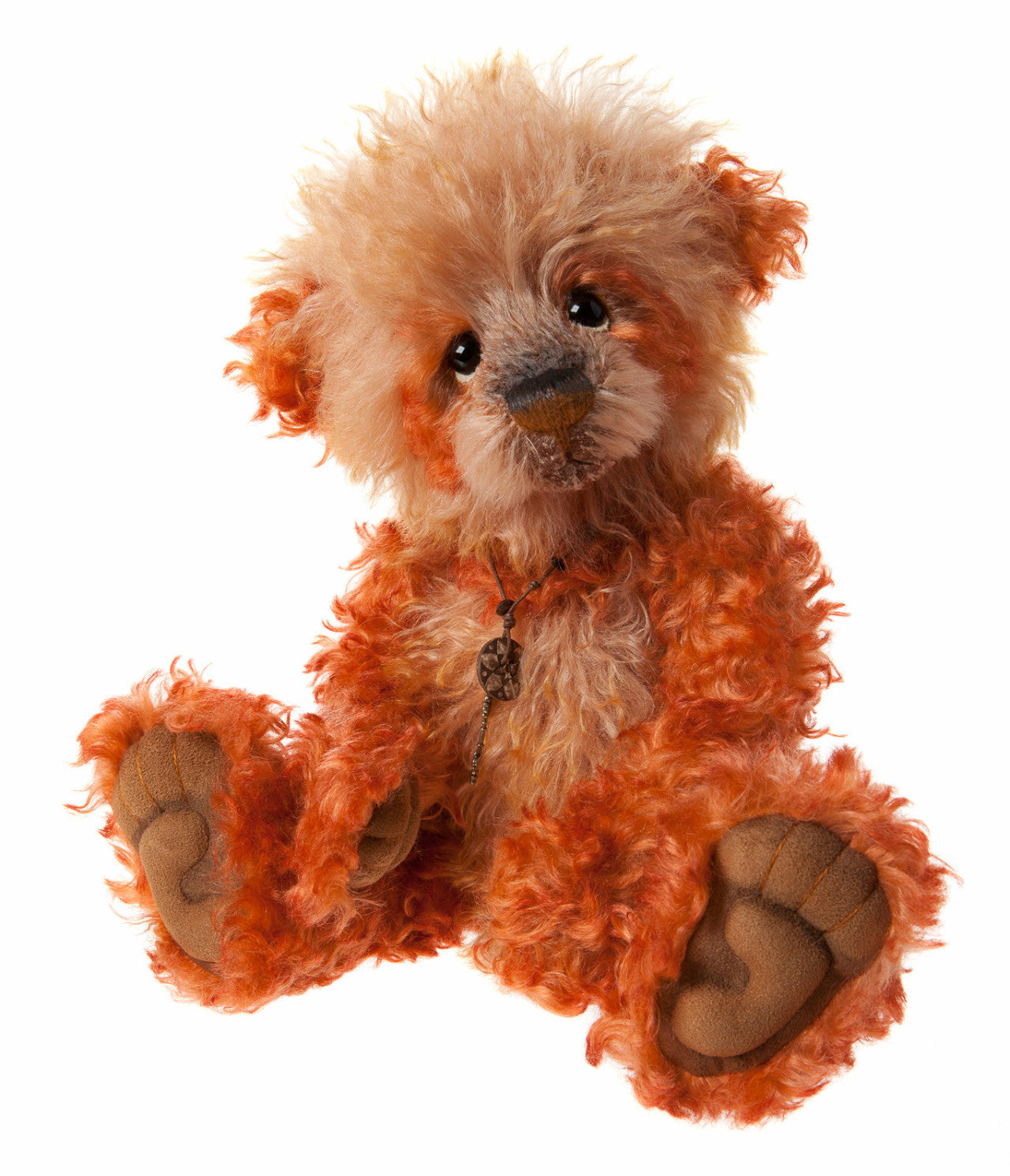 Charlie Bears Orange Pippin Bear