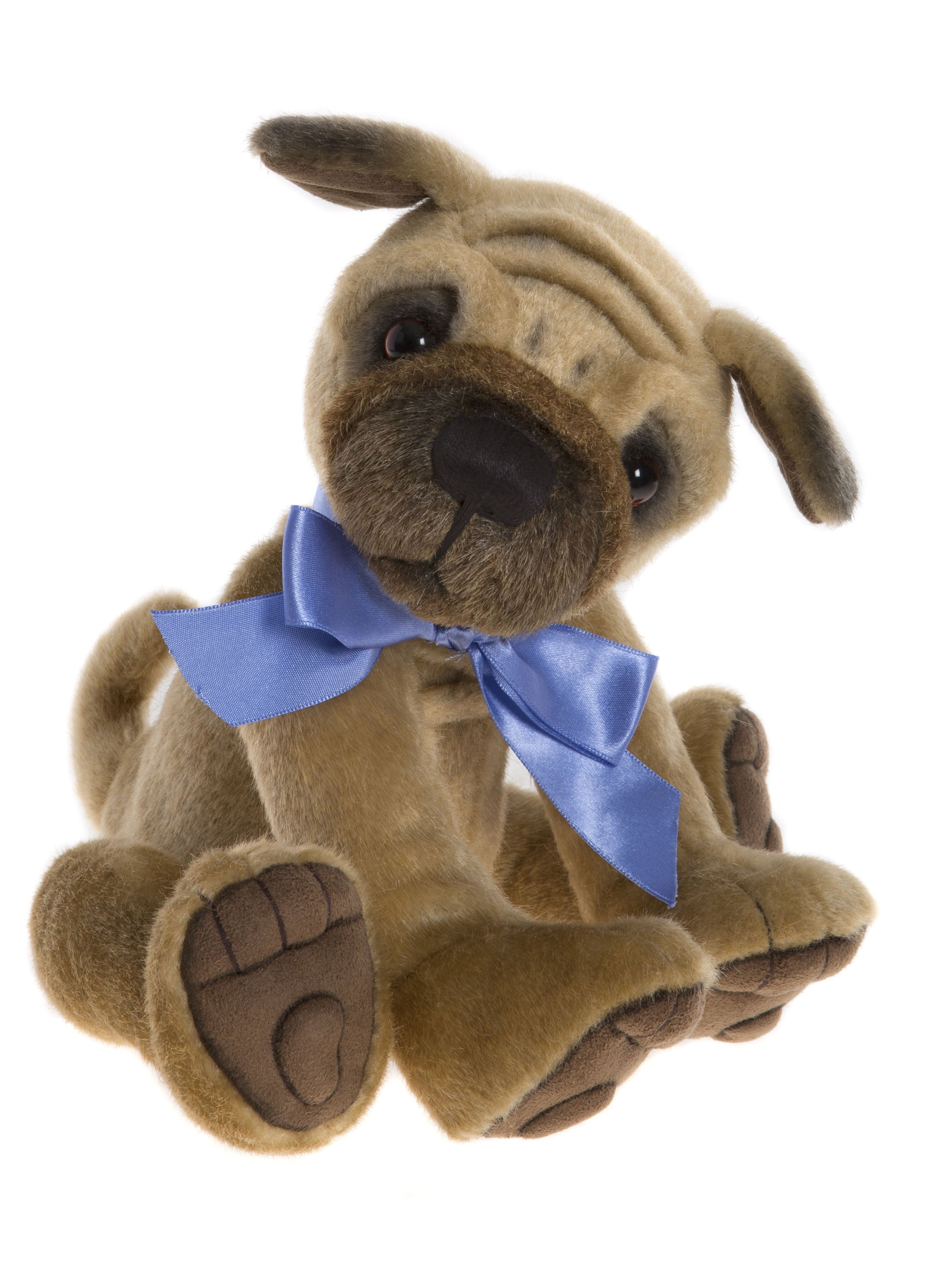 Charlie Bears Biscuit Pug Puppy Dog Stuffed Animal