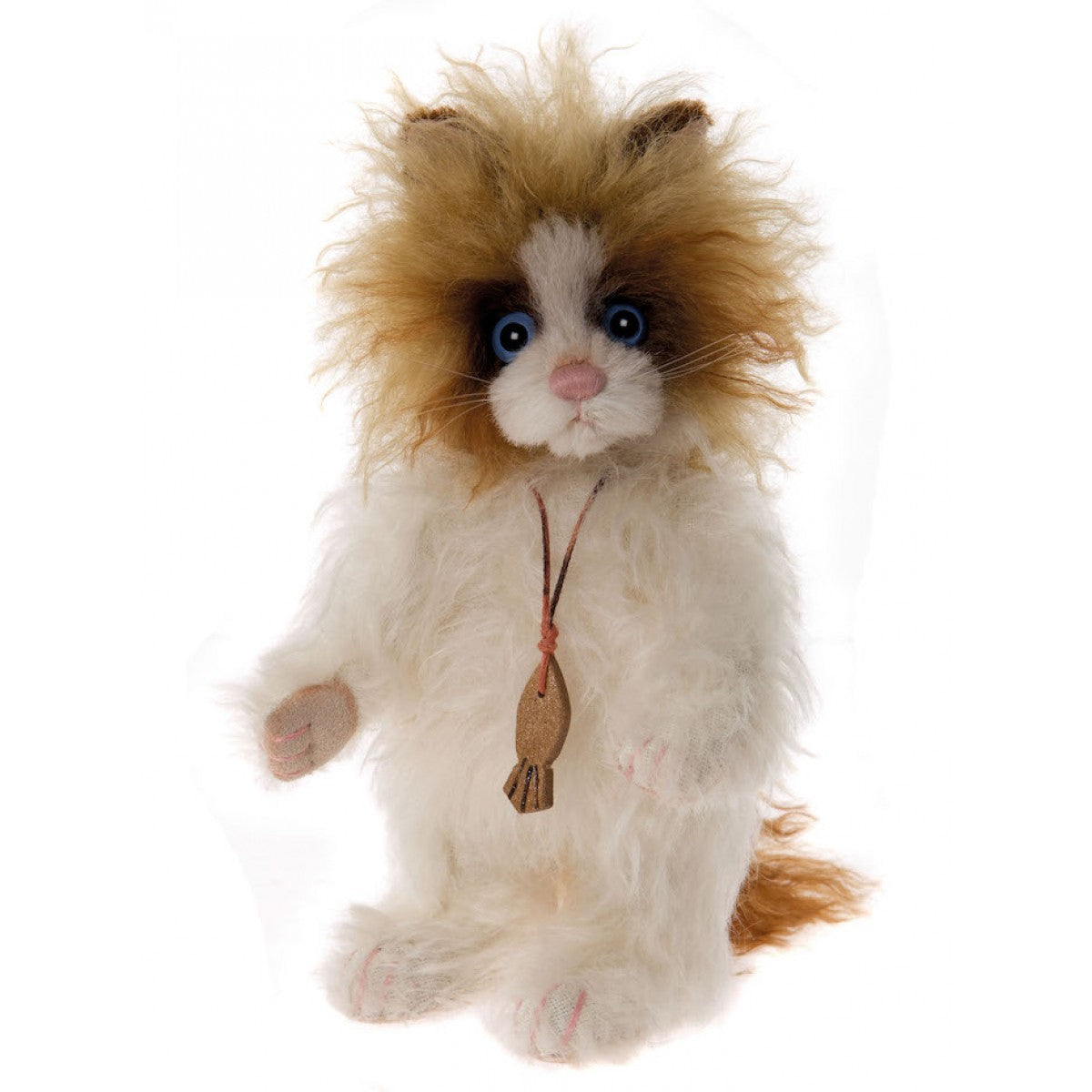 Charlie Bears - Catnip Kitty Cat - Mini Stuffed Animal