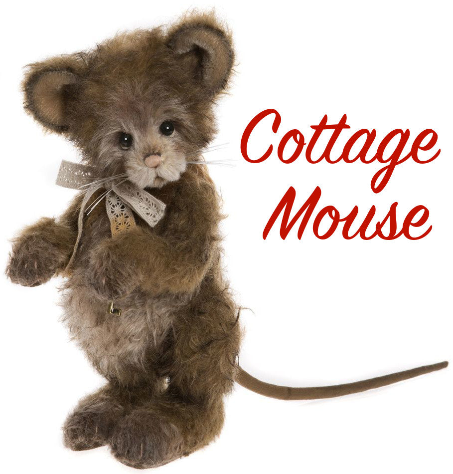 Charlie Bears Cottage Mouse