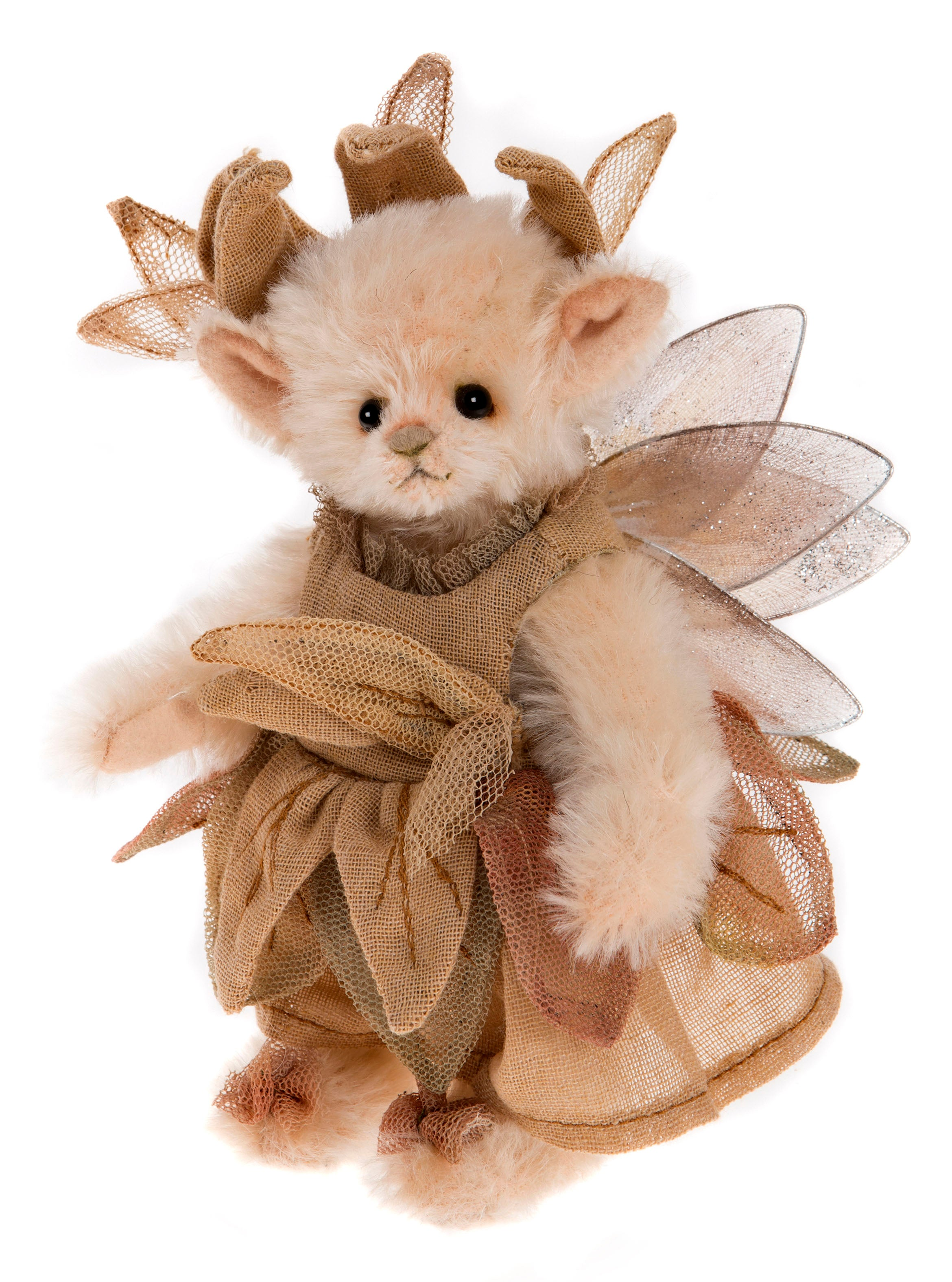 Charlie Bears Cuckoo Pixie Fairy Mini Teddy Bear