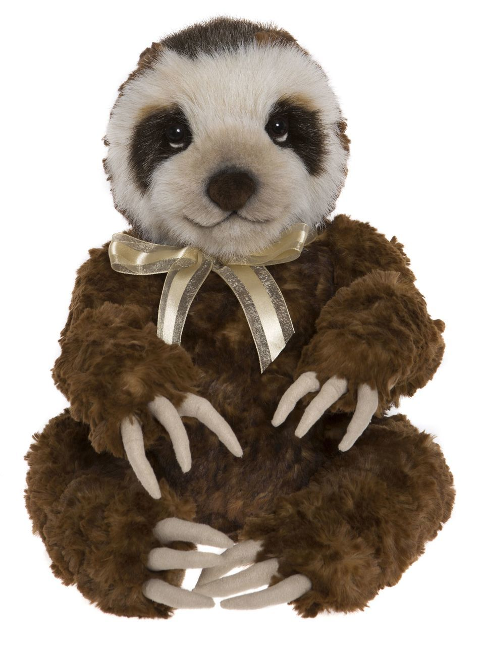 Charlie Bears Dringle Sloth Stuffed Animal