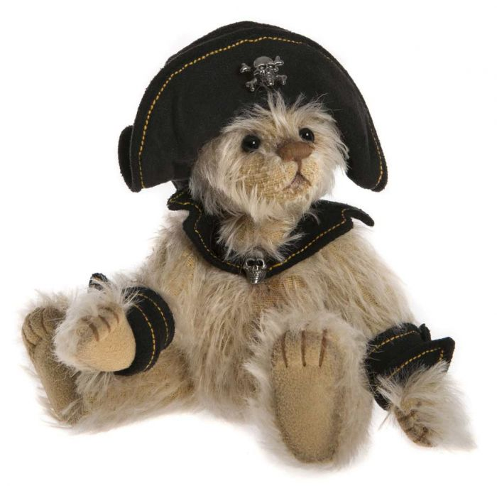 Charlie Bears Dubloon Teddy Bear Pirate